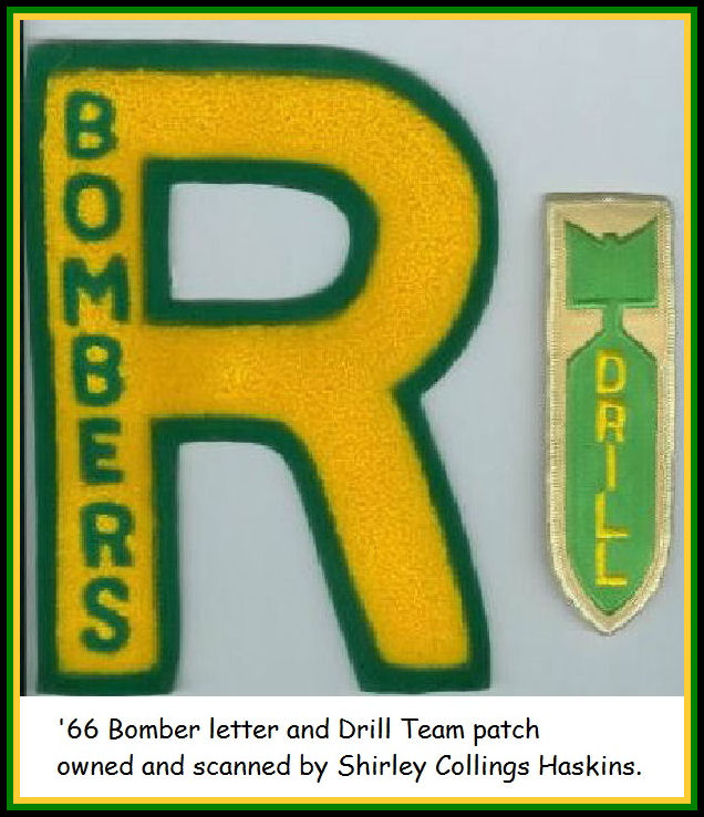 Bomber Letter and Drill Team Patch
